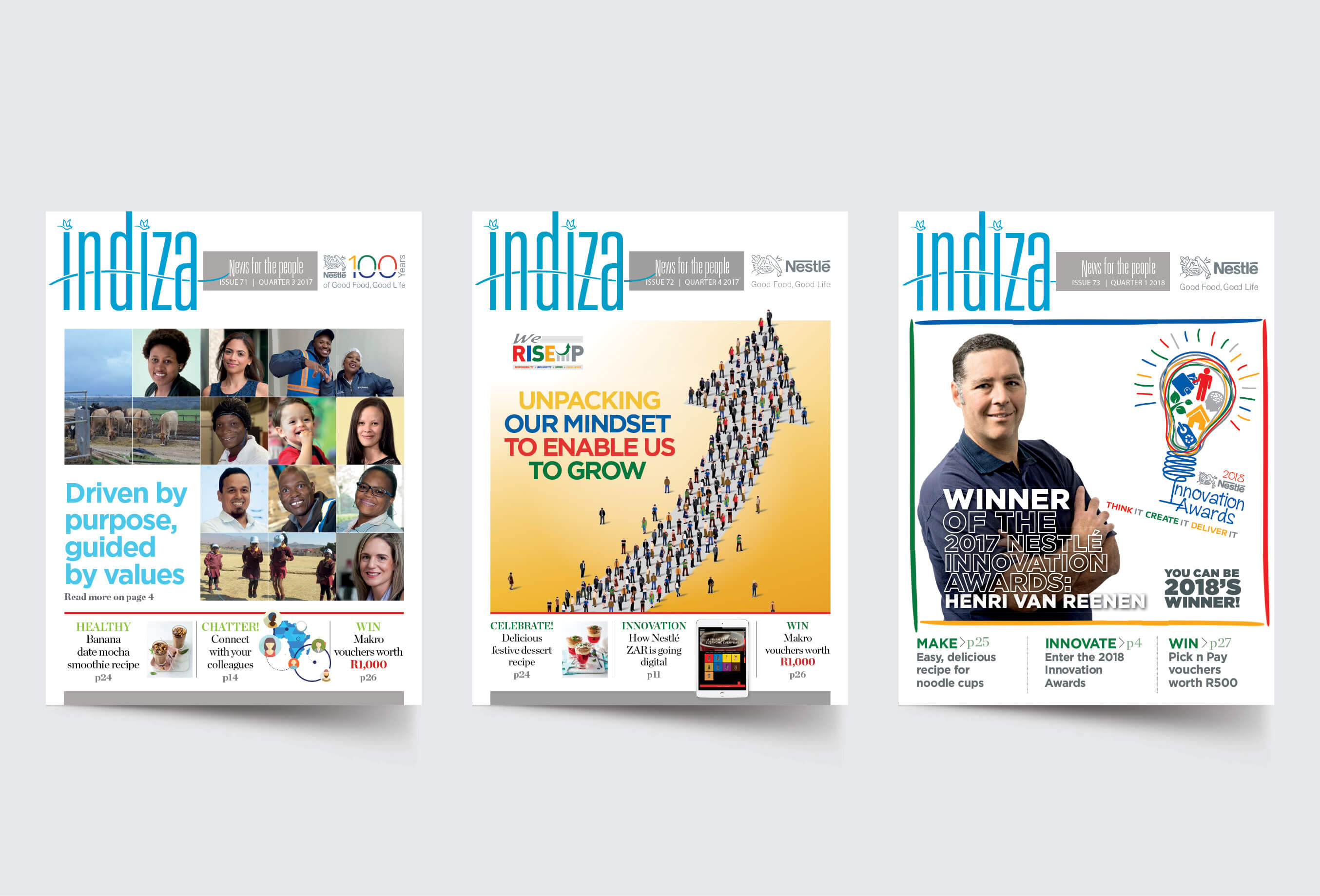 Indiza magazine wins 2018 SA Publications awards